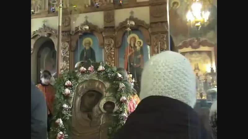о. Василий (Новиков) 2007 год Ноябрь. Спасское