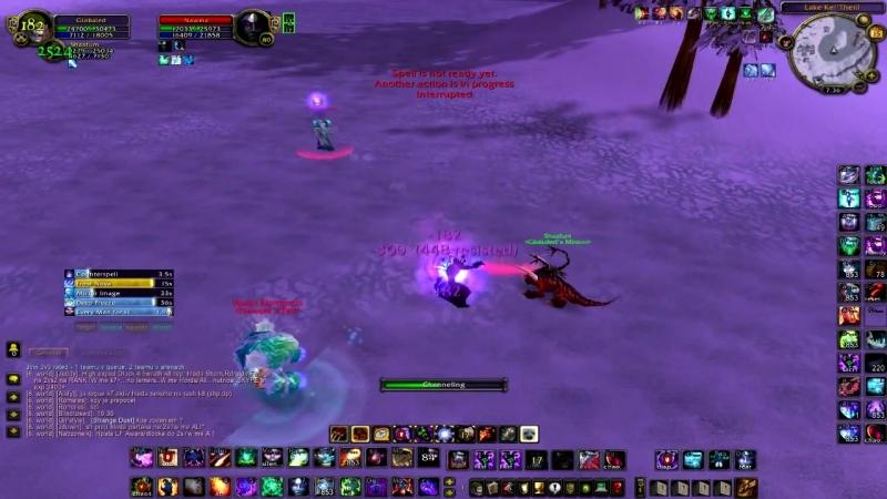 Destruction Warlock Duel Guide - Frost Mage