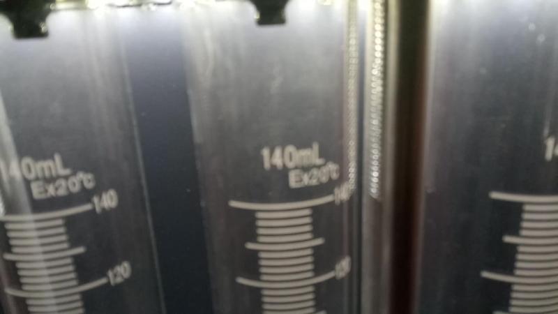 проверка бензиновых форсунок на стенде