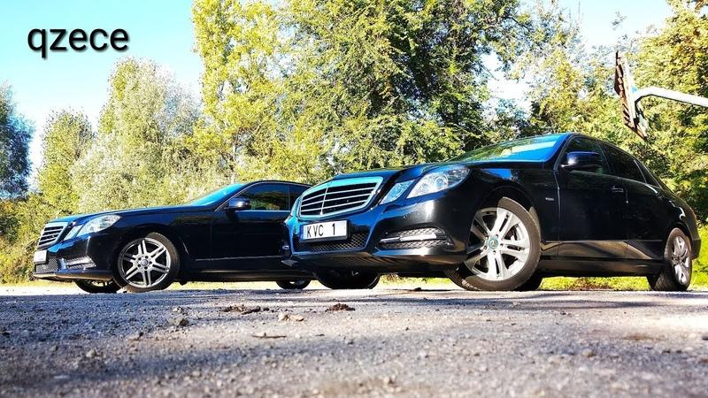 AMG Пакет vs Авангард | Стоит ли доплатить?! | Mercedes-Benz E class w212 | qzece