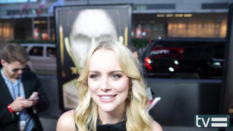 Helena Mattsson Interview - American Horror Story Hotel (FX)