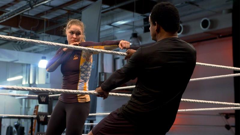 The Jean Ronda Rousey's hardcore SummerSlam training
