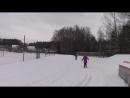 Обучение катанию на лыжах санки/тюбинги