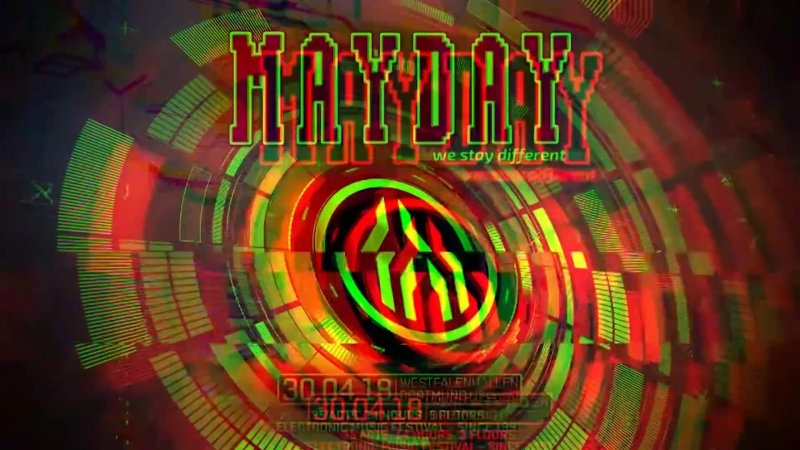 Ophidian @ Mayday 2018 - Full DJ set some video