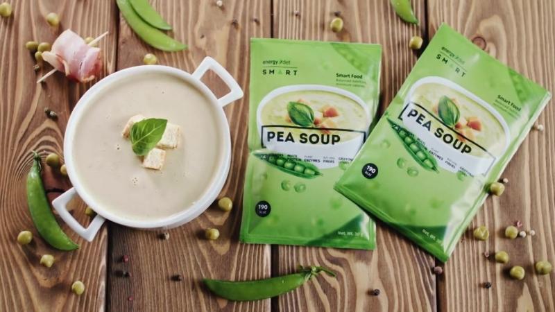 NL International представляет Energy Diet Smart Гороховый суп с копченостями