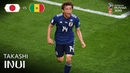 Takashi INUI Goal Japan v Senegal MATCH 32