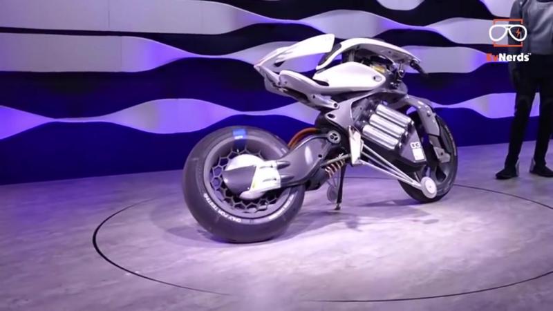 Yamaha MOTOROID - лучший электромотоцикл