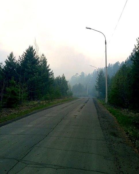 Лесной пожар 28.05.2018