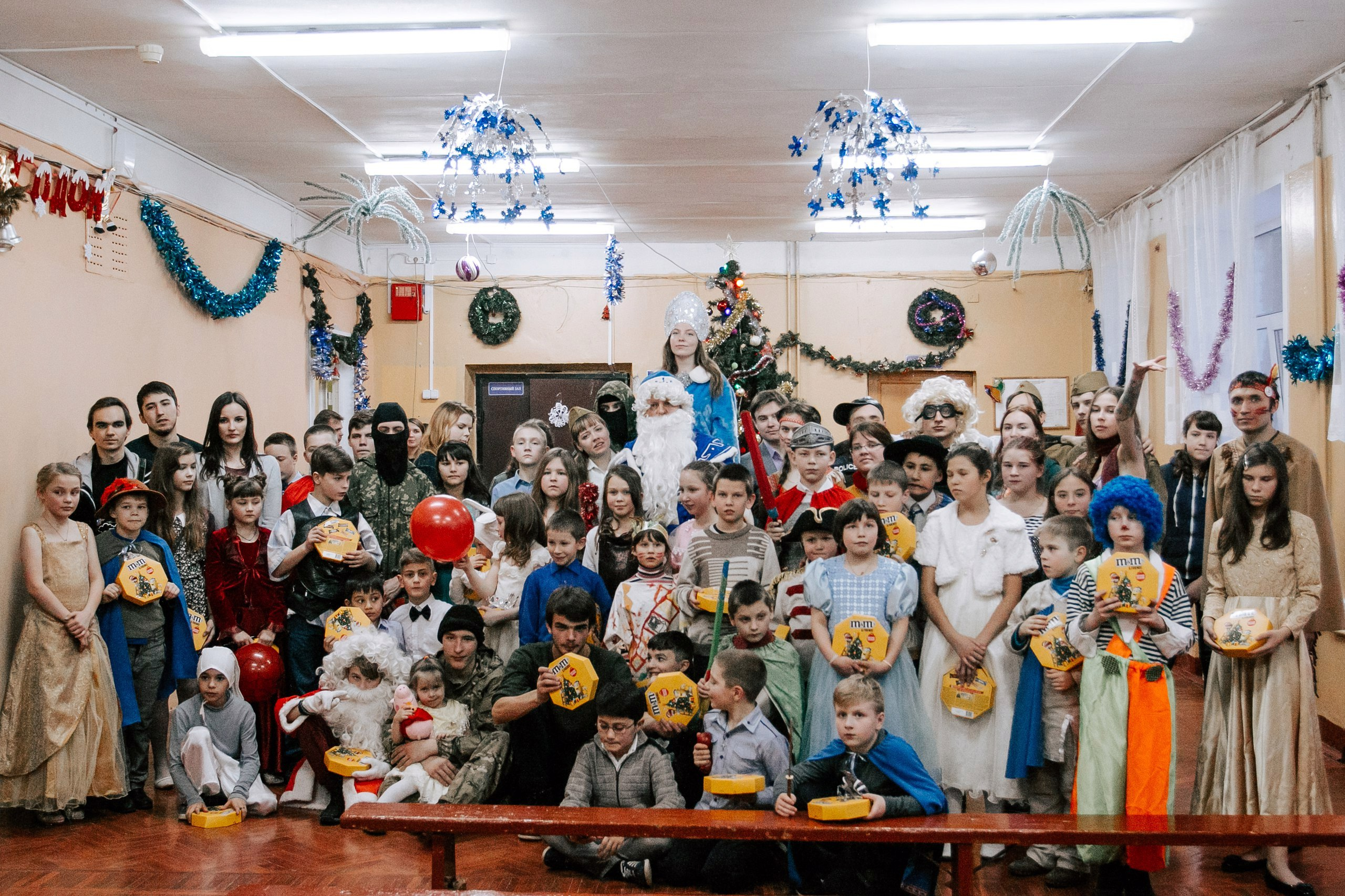 Новогодний праздник в медновском интернате