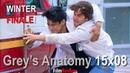 """Grey's Anatomy 15x08 WINTER FINALE PICTORIAL sneak peek """"Blowin' in the Wind"""""""