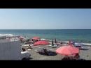 Сочи . Адлер центр Адлера пляж ОГОНЕК ! 23 августа 2018 года