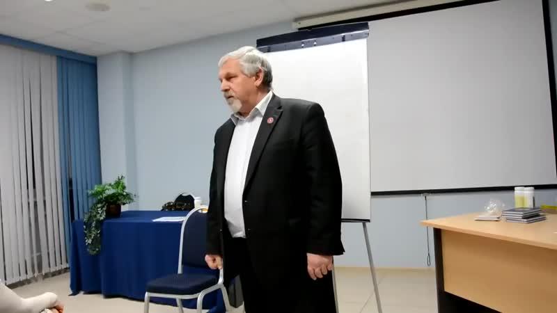 Профессор Жданов В. Г. Новая лекция по восстановлению зрения. Тверь, 12.02. 2016 г. [720p]