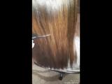 Кератиновое выпрямление 🌸🌸🌸Гладкие блестящие ухоженные!Идеальные!🔥🔥🔥✌✌✌А вы всё ещё мечтаете о таких волосах? Хватит мечтать!