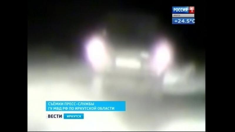 Пьяного водителя микроавтобуса в Черемховском остановил только выстрел по колёсам