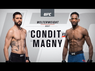 UFC 219 Carlos Condit vs Neil Magny