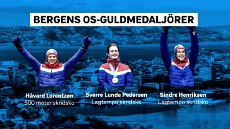 Bergen on the Olympic Games against all odds