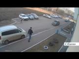 Нападение на мужчину с ребенком в Кемерове