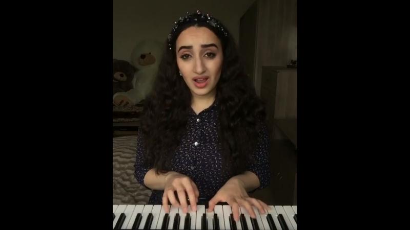 Армянка спела на узбекском 😱😍