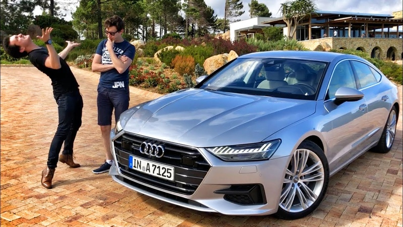 Тест НОВОЙ Audi A7 50TDI и 55TFSI с Блюденовым в ЮАР!