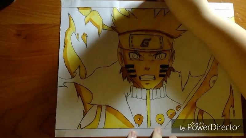 AMW-Drawing Naruto
