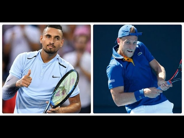 Nick Kyrgios vs Denis Kudla HIGHLIGHTS CINCINNATI 2018 R1