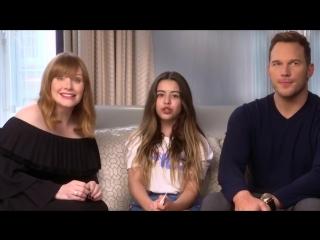 Teen Advice with Chris Pratt  Bryce Dallas Howard (Jurassic World)_ Sophia Grace