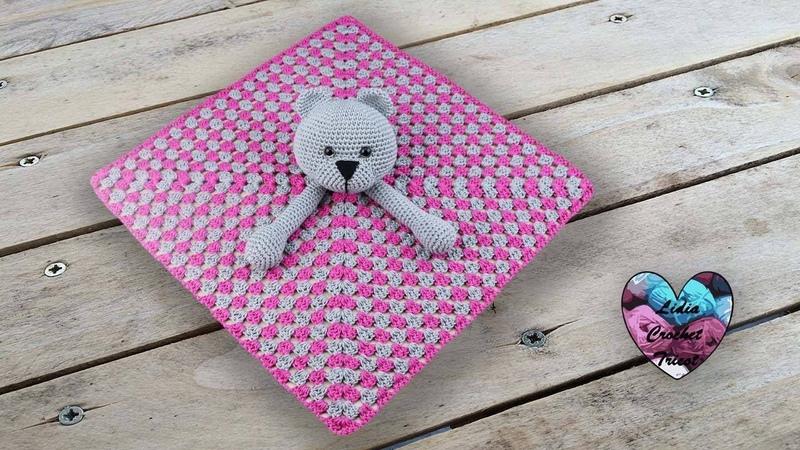 Doudou ourson Crochet Amigurumi Lidia Crochet Tricot
