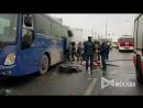 Ликвидация возгорания в моторном отсеке заказного автобуса