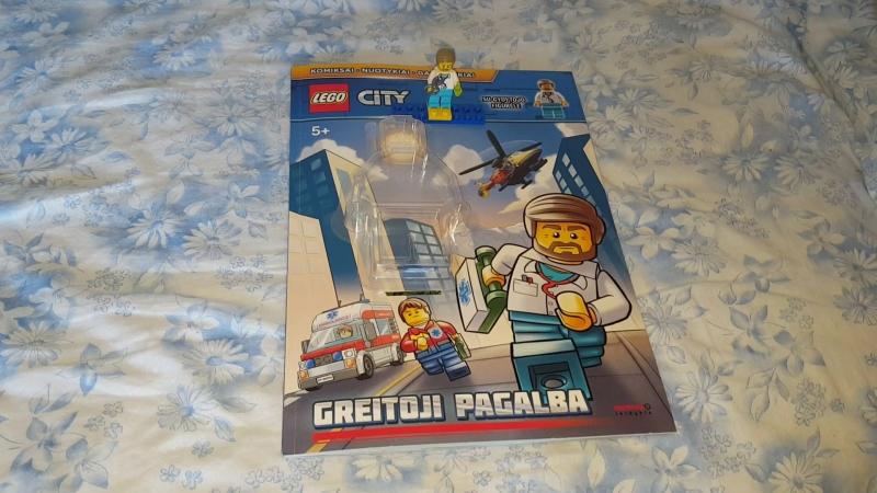 Lego City Magazine With Doctor Лего Сити Журнал С Врачом