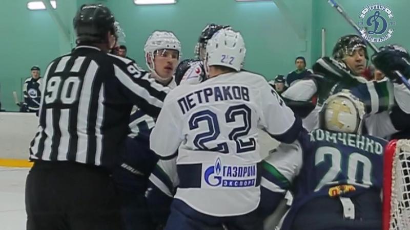 Торос - Динамо СПб 4:0 (30.01.2018)