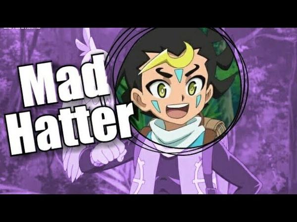 Beyblade burst god Kuza AMV Mad Hatter