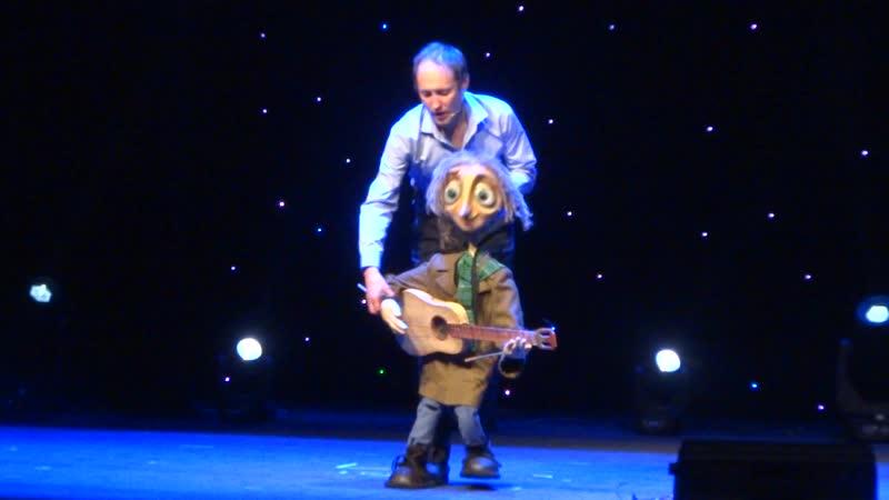 Джеймс из спектакля Уличный кот по имени Боб. Владимир Хлопов