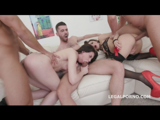 4on2 Extreme With Monika Wild & Dominica Phoenix / Gapes / Balls Deep Dap / Squirt / Anal Fisting / Extasi Cumshot GIO504