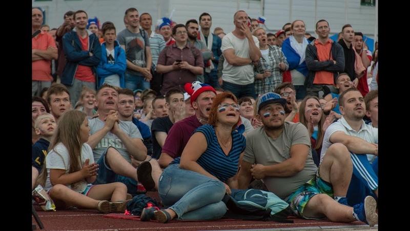 Сборная России по футболу объединила сыктывкарцев в фан-зоне