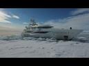 AMELS Superyacht KAMALAYA in Svalbard