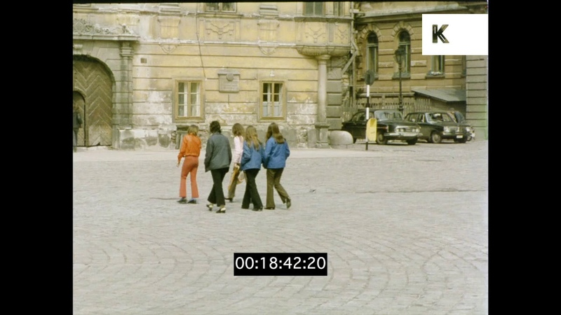 Eger Hungarian City in the 1970s HD from 35mm