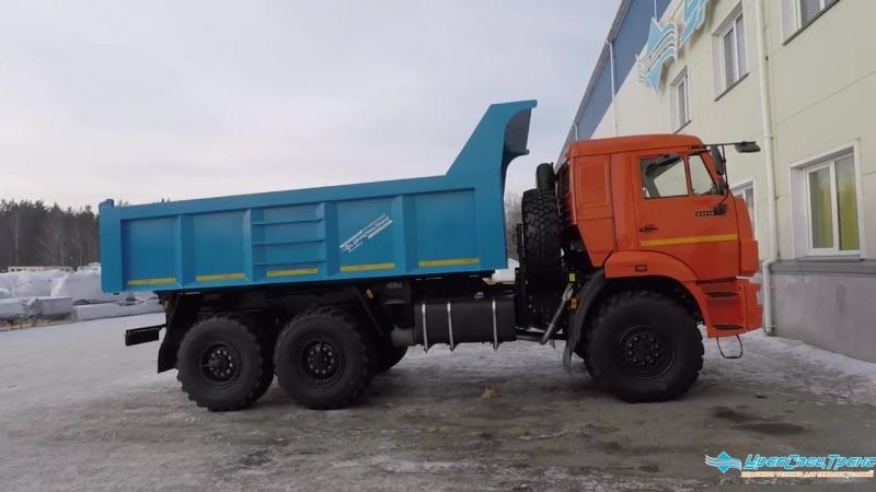 Самосвал на шасси Камаз, производства УралСпецТранс