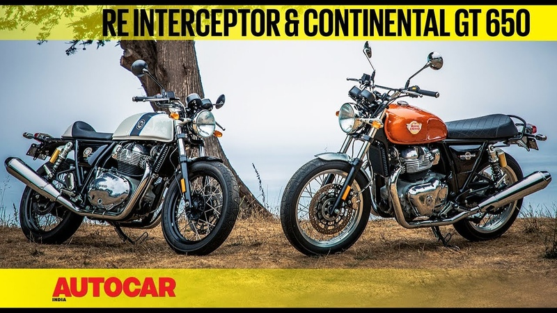 Royal Enfield Interceptor Continental GT 650 First Ride Review Autocar India