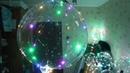 Светящийся LED шар - режимы переключения