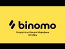 Результаты Binomo Марафона Октябрь