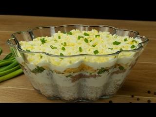 """""""Салат с тунцом"""". Одна из самых популярных рыбных закусок!"""