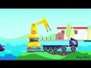 Автозаправка. Нефтяная вышка. Как из нефти делают бензин. Развивающий мультик для детей.