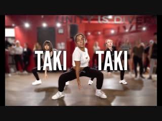 DJ SNAKE - Taki Taki (Ft. Selena Gomez, Ozuna, Cardi B) | Kyle Hanagami Choreography