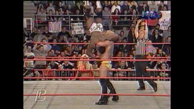 Титаны реслинга на ТНТ и СТС WCW Nitro October 16 2000