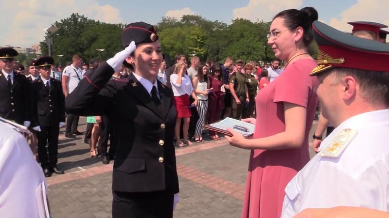 В столице Республики состоялся первый выпуск курсантов, студентов и слушателей ДАВД