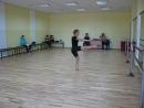 Аделина Солонина на репетиции выкладывается как на сцене