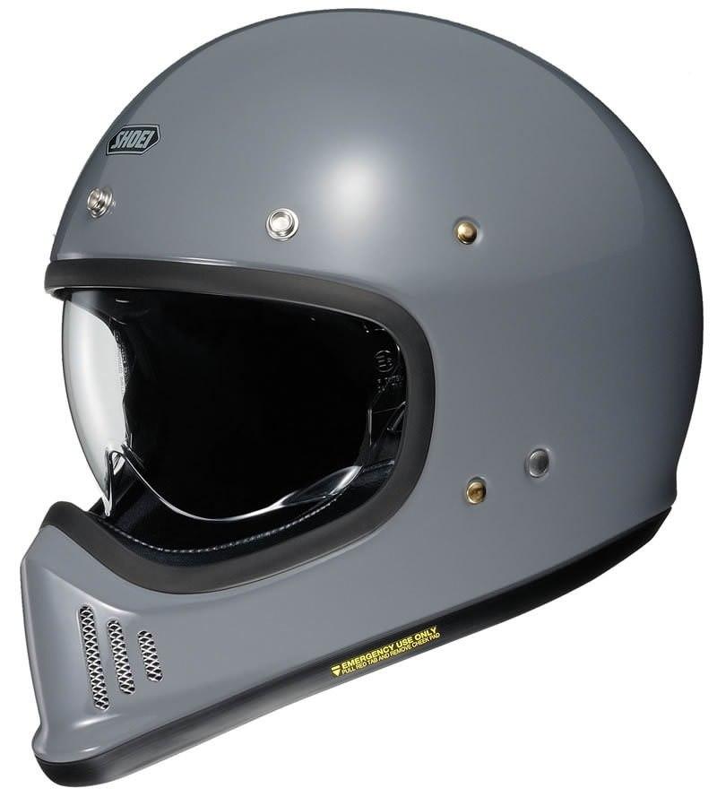 Новый мотошлем Shoei EX-Zero - ретро дизайн, современные технологии