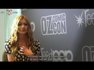 Kat Talks The End of Shadowhunters_rus