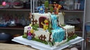 Bánh Sinh Nhật Tạo Hình Trang Trí Gấu Pooh và Những Người Bạn Decorate Cake With Pooh Bear