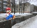 Як Super Mario: Прайсці па брудным Гомелі яшчэ тая забава